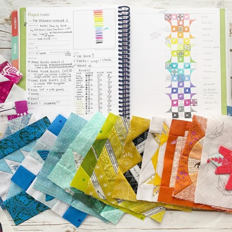 the splendid sampler 2 night quilter quilters planner