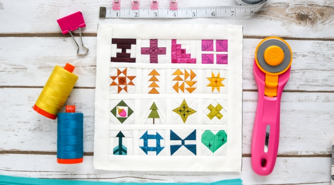 sew tiny sampler fpp pattern