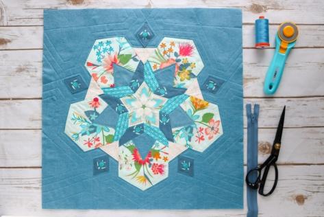 pollen pillow epp misterdomestic aura art gallery fabrics