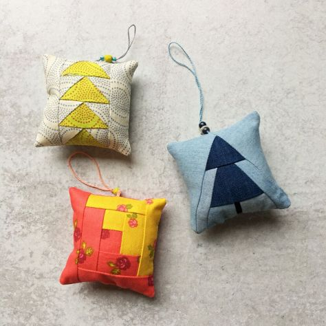 Sew Tiny Sampler Ornaments by Blair Wise Craft Handmade christmas