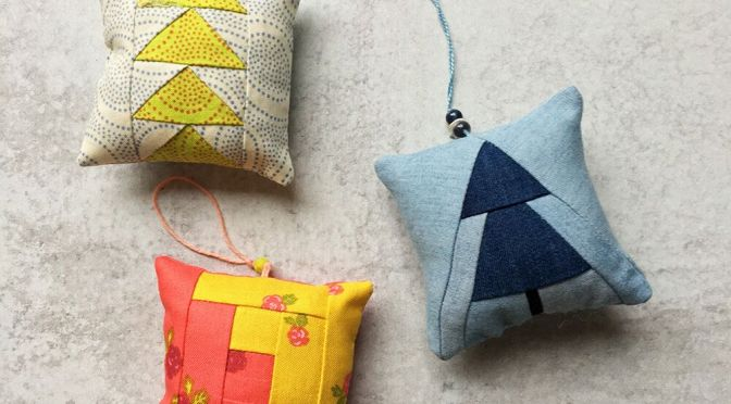 Sew Tiny Ornaments by Wise Craft Handmade