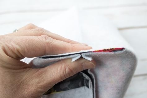 fabric skinny bin tutorial nightquilter