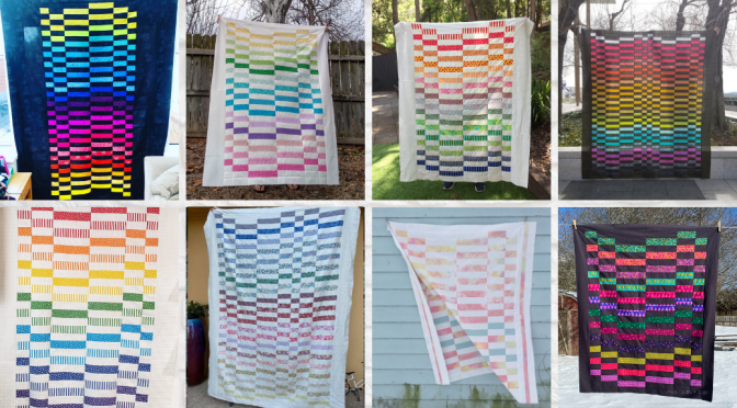 Staggered Quilt Tester Highlights Reel