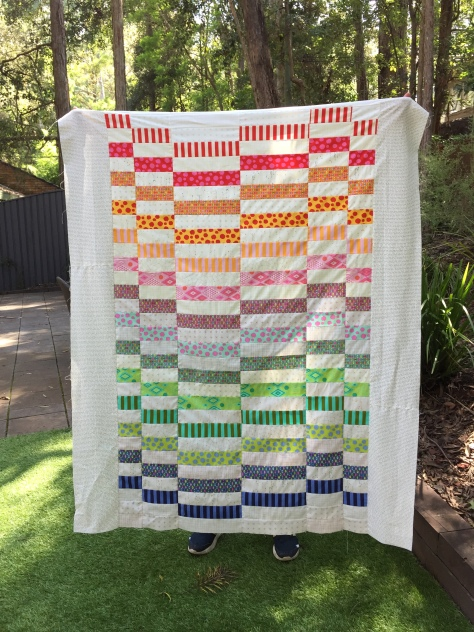 tula pink staggered quilt lisa