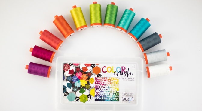 Aurifil Color Crush Thread Collection Release