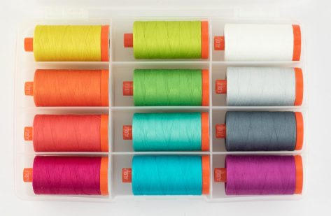 color crush aurifil thread collection threads kitty wilkin night quilter