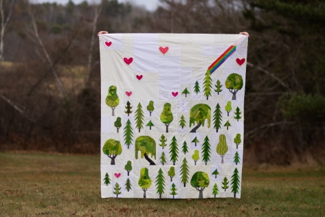plant worry grow hope quilt pattern